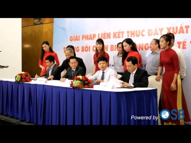 Lễ ký kết MOU Alibaba - OSB - VPBank - PTI